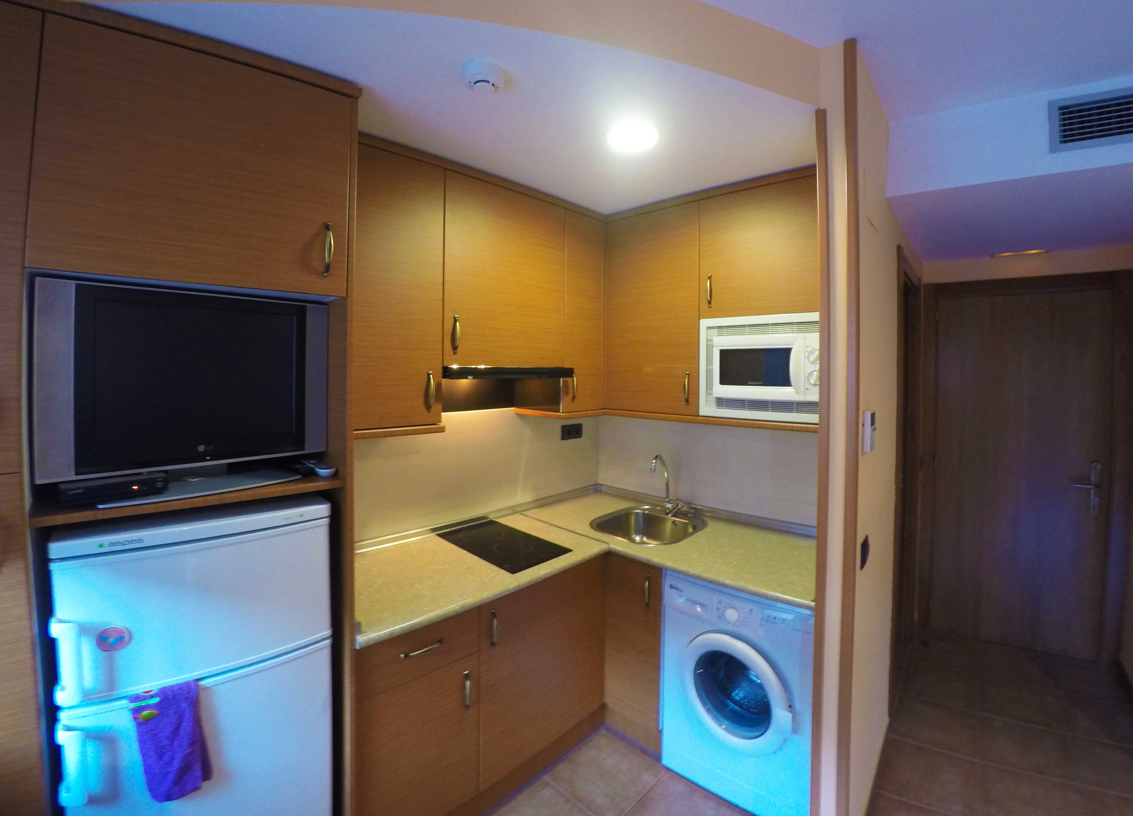 cocina apartamento siute en graus